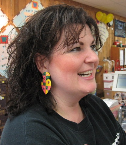 Amy and Her Big Earrings